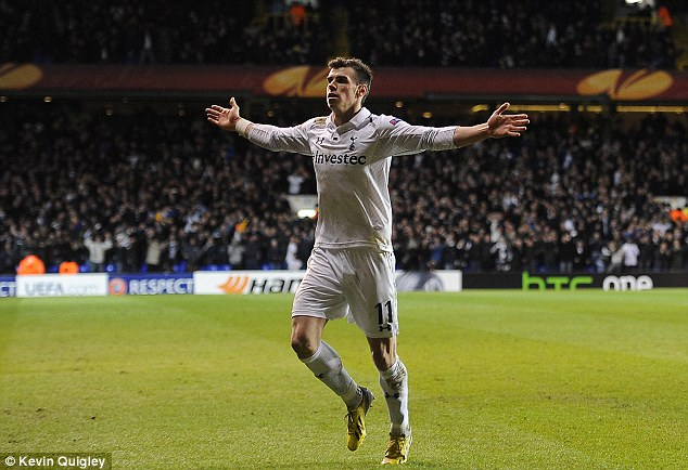 Oh yeah? It seems Gareth Bale is doing his best to make it in to the world's elite