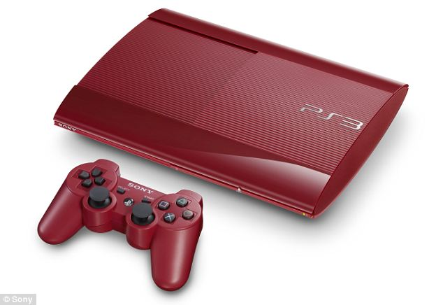 Last hurrah: The Garnet Red PS3. Sony are still actively marketing the console, and are releasing it in two different colours tomorrow