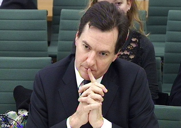 Damning: The Public Accounts Committee called government attempts to stimulate the economy 'expensive experiments' (Pictured: Chancellor George Osborne)
