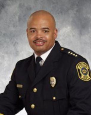 Crime target: Texan Police Chief Doug Brinkley