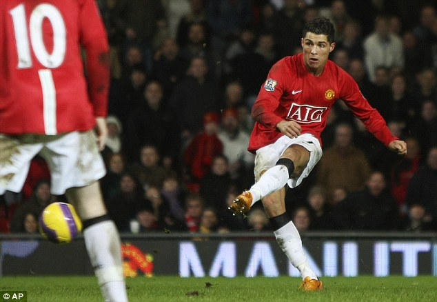 Reality check: Ronaldo scored just the one hat-trick at United, in a 6-0 win against Newcastle