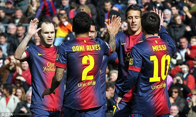 It's over: Barcelona have all but wrapped up La Liga, 12 points ahead of Atletico Madrid and 16 over Real