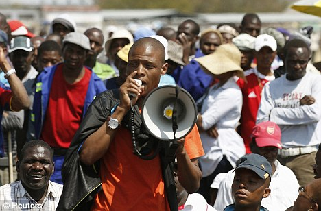 Labour unrest: Anglo American was hit by the strikes that swept through South Africa's mining sector