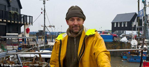 Lost lifeline: Fisherman James Green fears a vital service will disappear