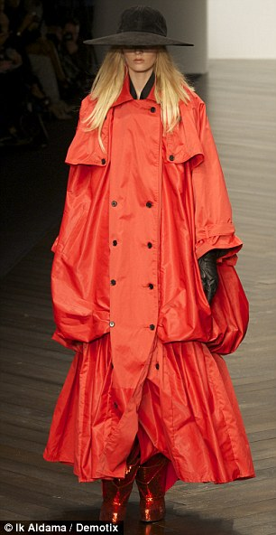 Big seller? These two odd looking coats by KTZ are unlikely to have many takers