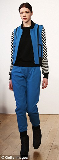 Feeling blue: Raeburn's collection was dominated by cobalt