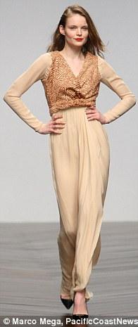 Pretty: Felder Felder's offering included glamorous gowns