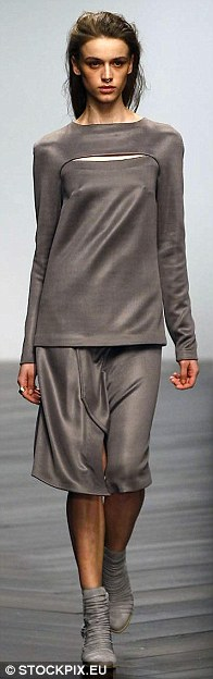 Simple: A pared back look in wearable silk jersey