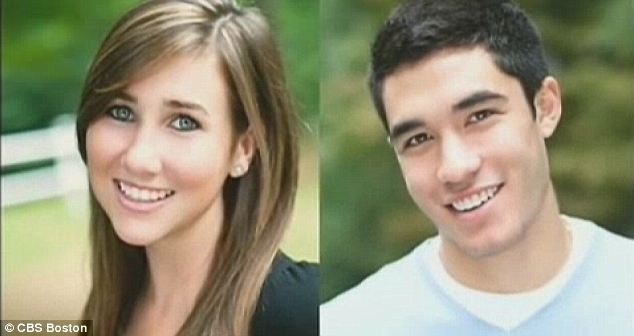 Police say Lauren Astley, left, was stabbed, strangled and dumped in a marsh by her ex-boyfriend, Nathaniel Fujita, who was outraged that she had broken up with him
