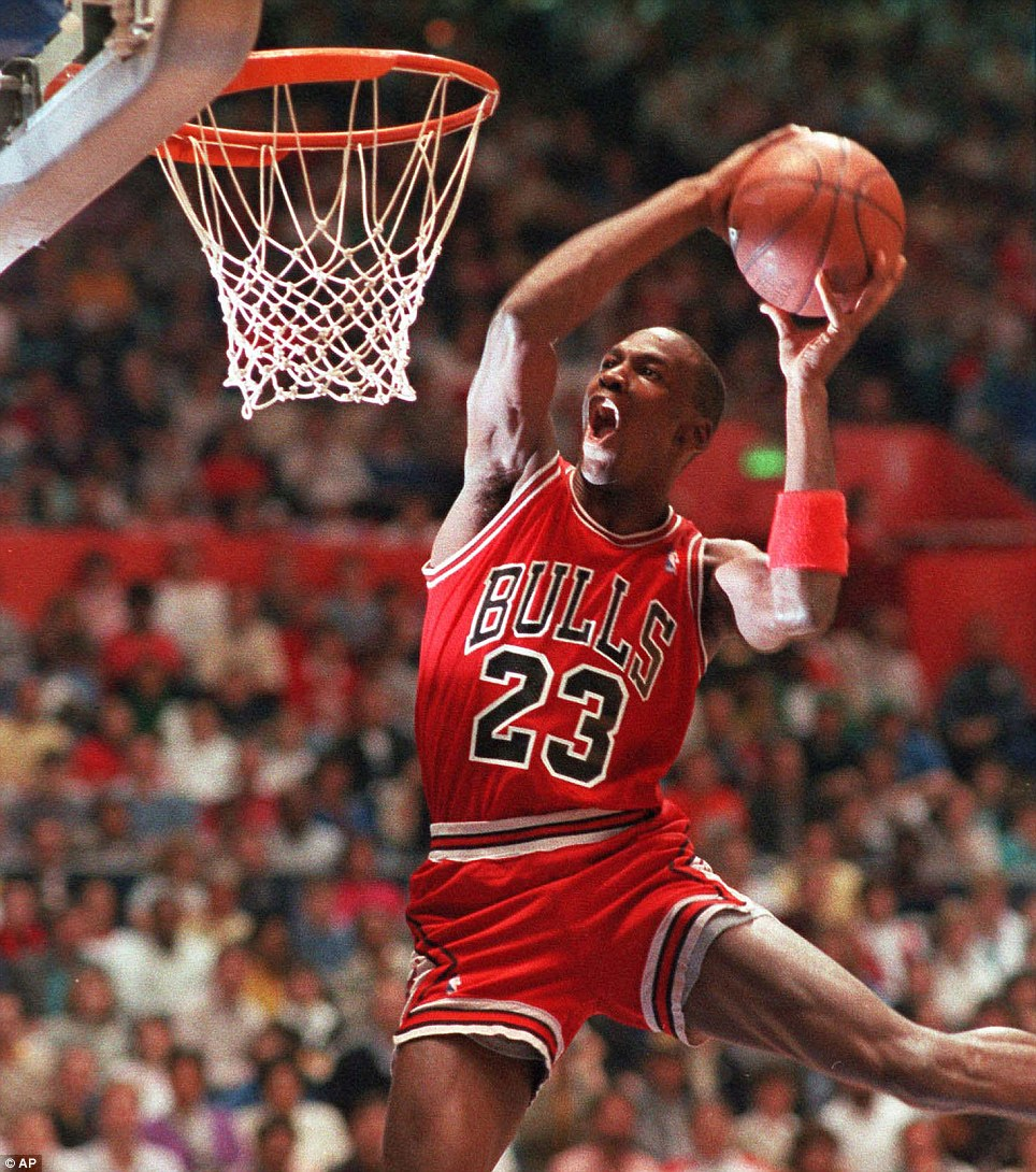 Slam dunk: Michael Jordan was one of the greatest professional basketball players the NBA has ever seen. He turns 50 today
