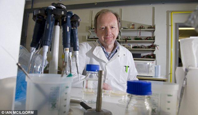 Bridging the gap: Professor Ian Jones says new ideas need cash backing
