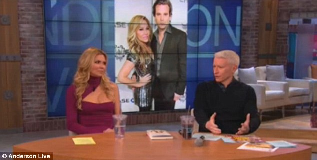 It makes me sick: Brandi Glanville told Anderson Cooper that co-star Adrienne Maloof's relationship with Sean Stewart 'makes me want to throw up'