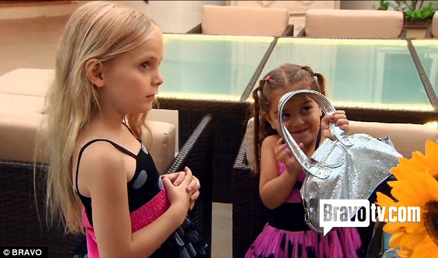 'No idea': Little Kennedy was with Kyle Richards' daughter but her mother did not realise
