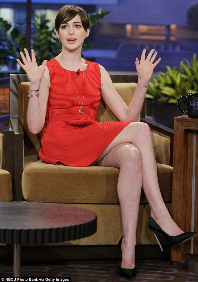 It was a disaster! Anne spoke out about her disastrous red-carpet appearance at the BAFTA's last weekend on Jay Leno on Wednesday night