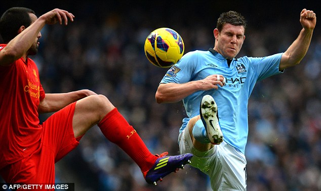 Make amends: James Milner knows Manchester City must improve
