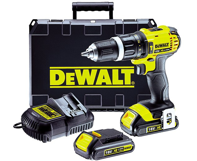 The DeWalt drill set has an intelligent trigger, which allows for much greater precision, and 14-position adjustable torque control