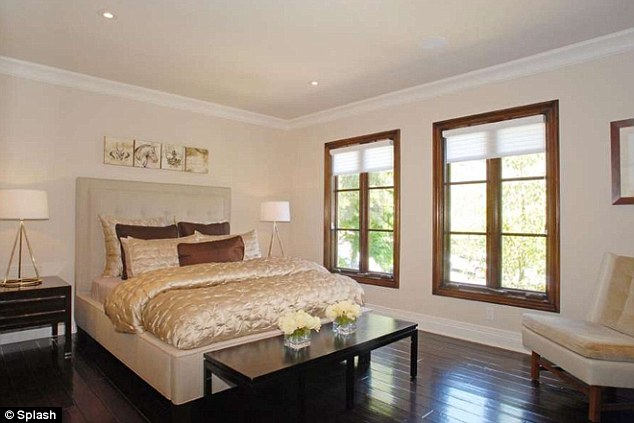 Master suite: The bedrooms are large and airy with lots of light, and boast dark hardwood floors