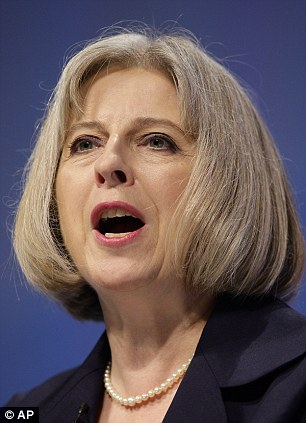 Angry: The Home Secretary has vowed to crush the judges' revolt