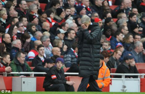 Busted flush: It's time for Arsene Wenger to leave Arsenal