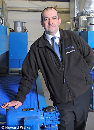 Solid backing: Two loans from Michelin helped Chris Buckley expand