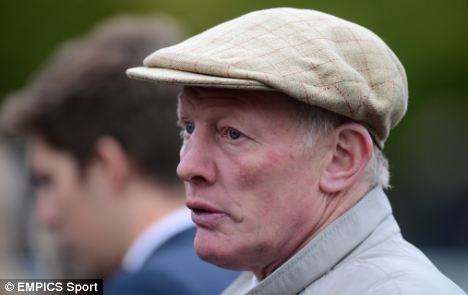 A great day: Gary Moore (pictured) will have enjoyed the victory of Vino Griego at Ascot
