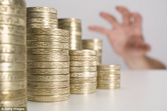 Savings grab: Savers withdrew money rather than stashed it away in the last six months of last year