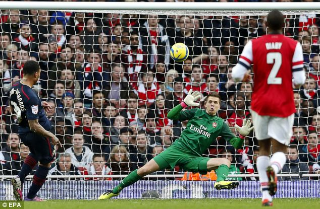 You're out: Wenger is determined to replace struggling keeper Wojciech Szczesny
