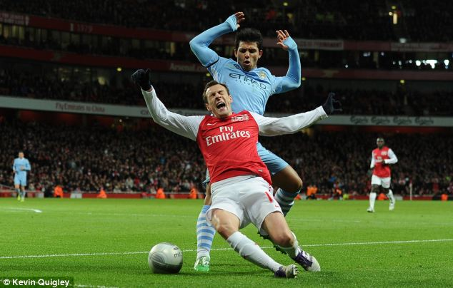 Failure: Sebastien Squillaci never made the grade at the Emirates