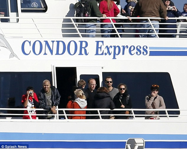 Condor Express: The crew kept their eye out for whales as they cruised through the Santa Barbara Channel