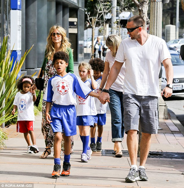 Big weekend: On Saturday the entire clan had soccer games on in Brentwood, California