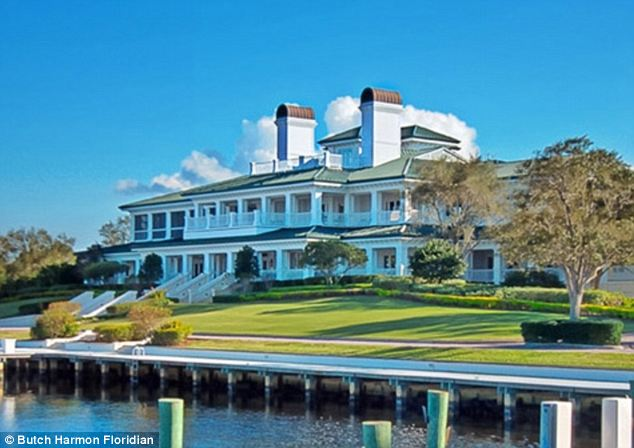 Tranquil: The round is taking place at The Floridian Yacht and Golf Club owned by Jim Crane