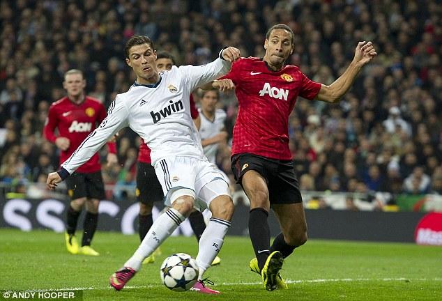 Special talent: Cristiano Ronaldo is at right midfield in Rio's team