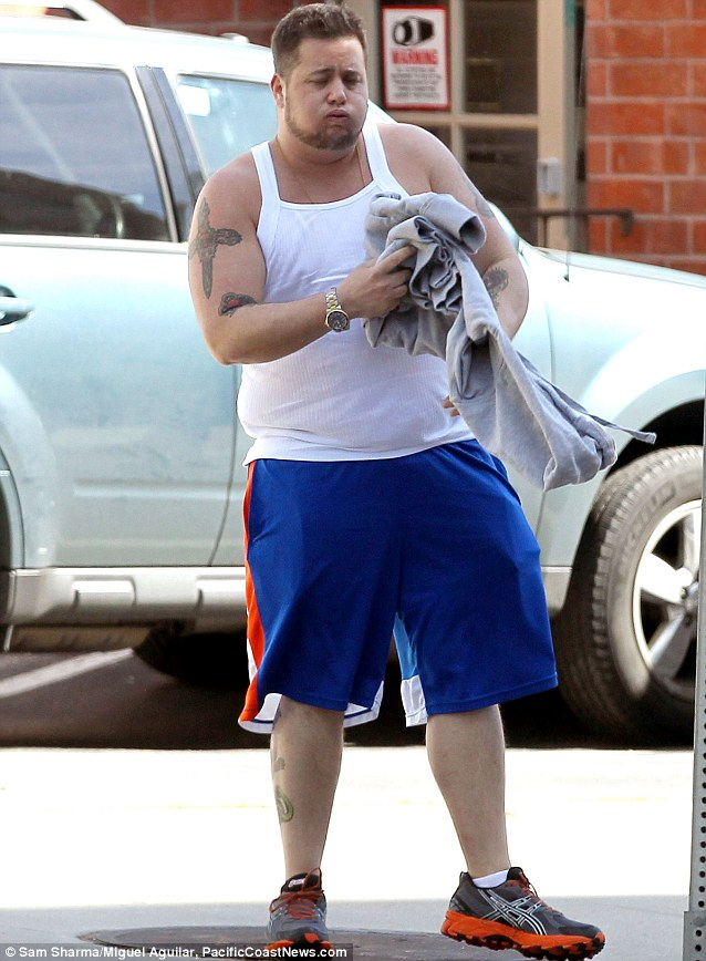 Work it out: He was recently pictured leaving a gym in Los Angeles