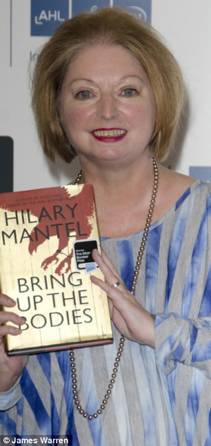 Attack: Author Hilary Mantel called the Duchess of Cambridge a 'shop window mannequin' who was 'designed by a committee' with a plastic smile