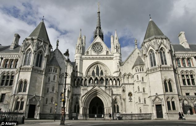 Appeal: The mother, who cannot be named for legal reasons, failed in her bid to get her six month jail term for fraud overturned at the Court of Appeal, pictured, yesterday