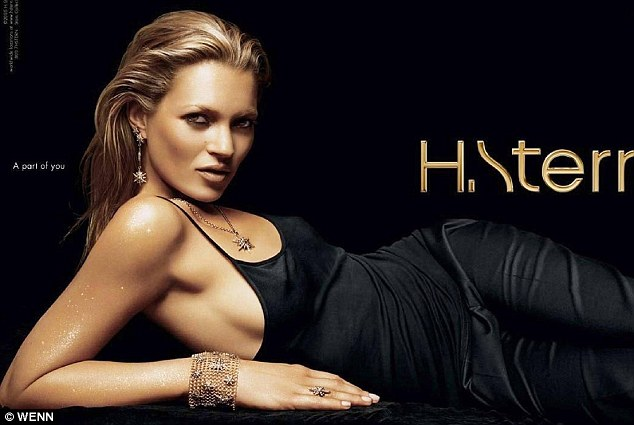 Favourite snapper: Kate was shot by Rankin for jewellery store H.Stern's 60 anniversary, he's shot her many times