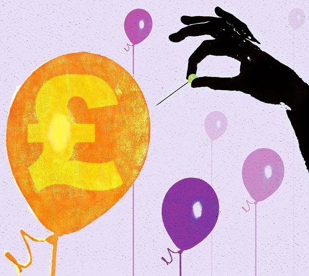 The bond bubble bursting