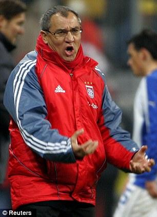 Bayern Munich coach Felix Magath