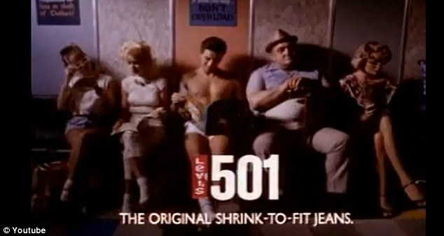 Original: Levi's original 501 commercial with Nick Kamen aired in 1985
