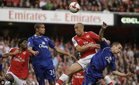 Renewed: Silvestre made 26 appearances for Arsenal after leaving Old Trafford