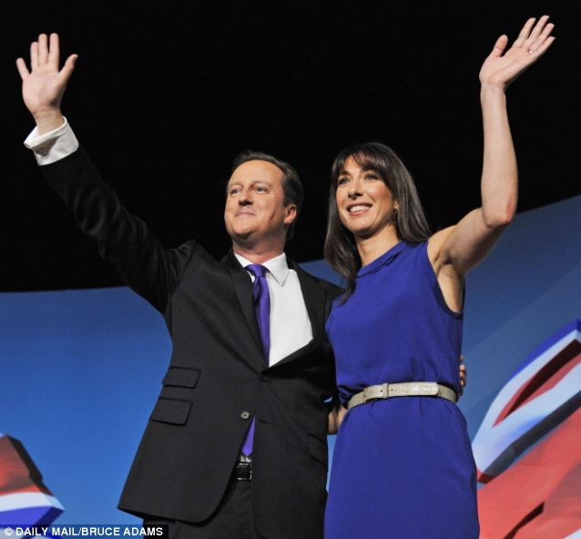 David Cameron said that his wife Sam encouraged him to try and get more women involved in politics