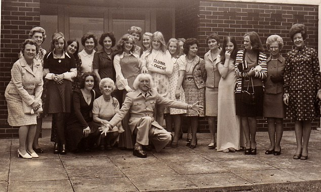 Accusations: Jimmy Savile visited Duncroft Approved School for Girls in the 1970s, pictured here in 1974, where he allegedly attacked several young women. It is not suggested that any of the women are in this picture