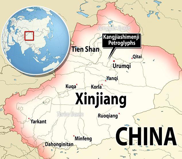 Where to find the Kangjiashimenji Petroglyphs