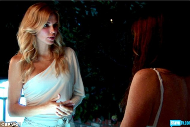 Sorting things out: Brandi has appeared on Real Housewives of Beverly Hills since season three