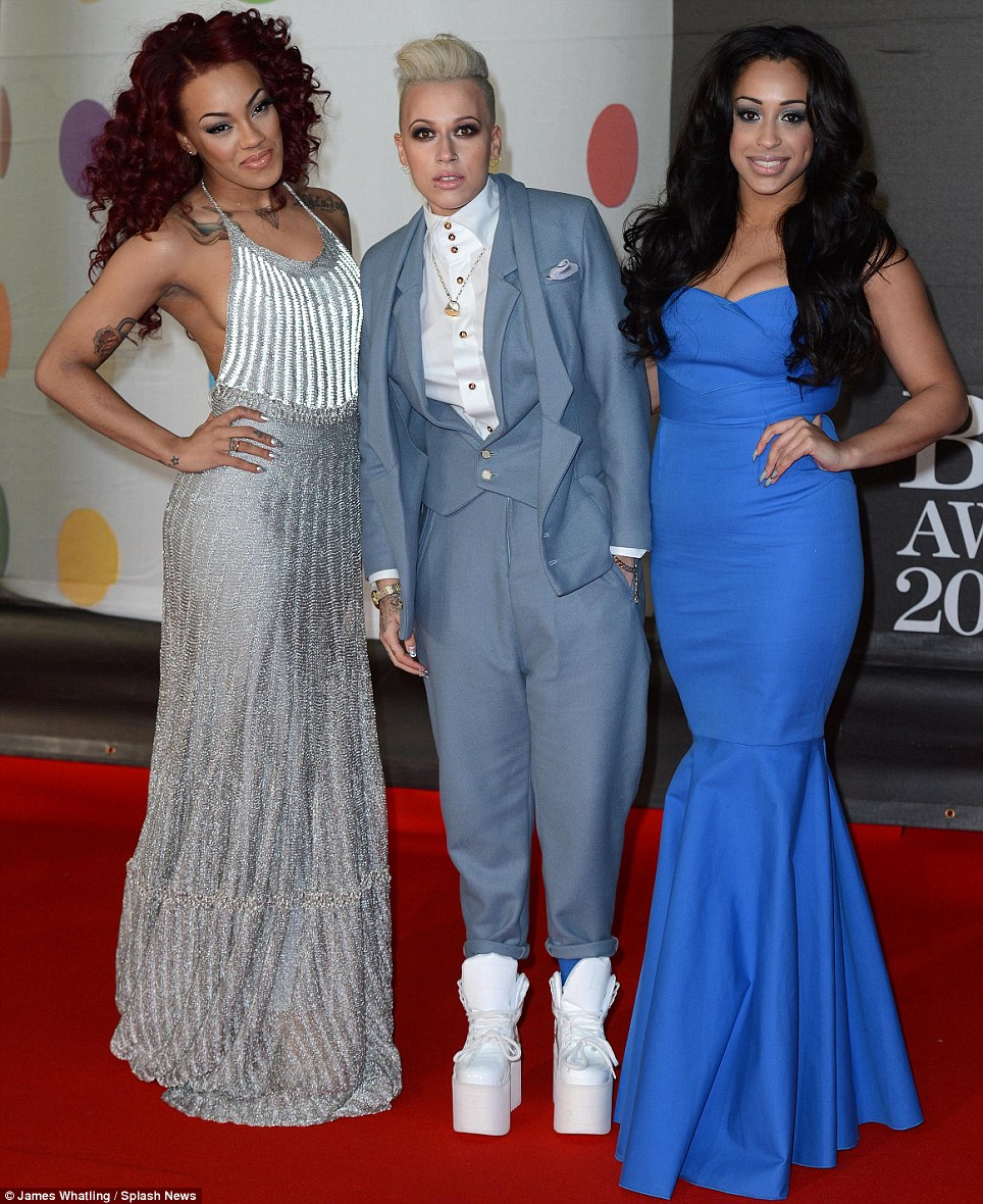 That's... different: Stooshe tried to make an impact in their array of bizarre ensembles as they joined the rest of the music royalty