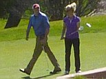 He suits me to a tee! Britney Spears' romance with her everyday Dave continues with a golf date