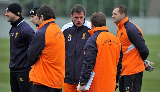 Milestone: Jamie Carragher will play his 150th game for Liverpool in Europe