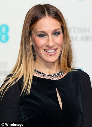 Long and short of it: Sarah Jessica Parker works a straight look, left, while Judi Dench looks pretty with a pixie crop