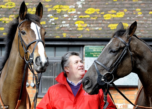 Breathe easy: Paul Nicholls confirms that Wonderful Charm will return after a breathing operation for the Coral Cup