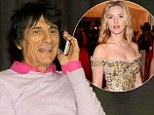 'I won a date with Scarlett Johansson': Newlywed Ronnie Wood reveals he is set to wine and dine the Lost In Translation beauty